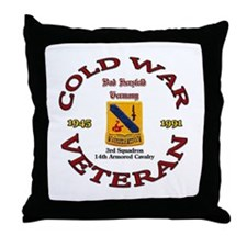 3rd Squadron 14th ACR Throw Pillow