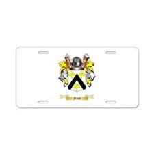 Frost Aluminum License Plate