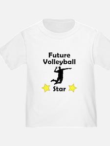 Future Volleyball (Serve) Star T-Shirt