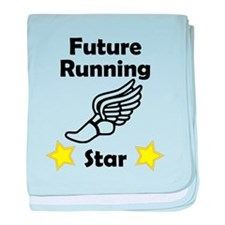 Future Running Star baby blanket