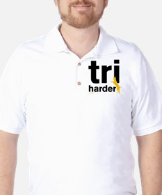 Tri Harder Golf Shirt