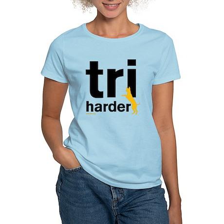 Tri Harder Women's Light T-Shirt