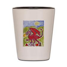 Fire Dragon Shot Glass