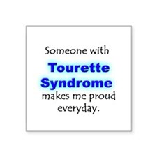 """Tourette Syndrome Pride"" Rectangle Sticker"