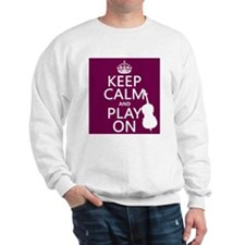 Keep Calm and Play On (double bass) Jumper