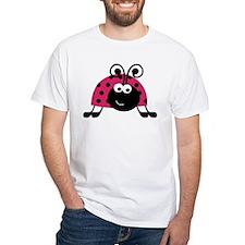 Happy Pink Ladybug T-Shirt