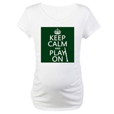 Keep Calm and Play On (clarinet) Shirt