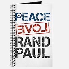 Peace Love Rand Paul Journal