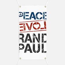 Peace Love Rand Paul Banner