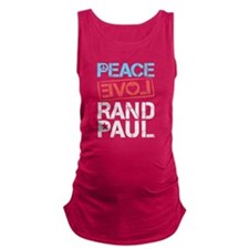 Peace Love Rand Paul Maternity Tank Top