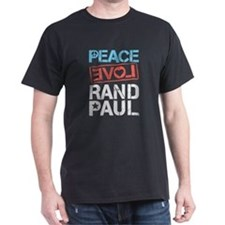 Peace Love Rand Paul T-Shirt