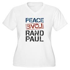Peace Love Rand P T-Shirt