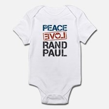 Peace Love Rand Paul Infant Bodysuit