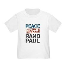 Peace Love Rand Paul T