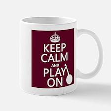 Keep Calm and Play On (banjo) Mugs