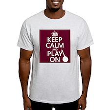 Keep Calm and Play On (banjo) T-Shirt