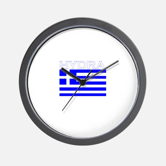Hydra, Greece Wall Clock