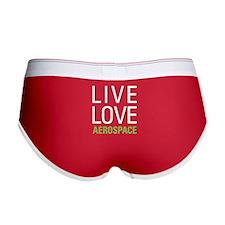 Live Love Aerospace Women's Boy Brief