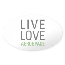 Live Love Aerospace Decal