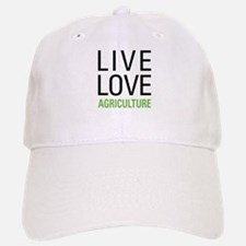 Live Love Agriculture Baseball Baseball Cap