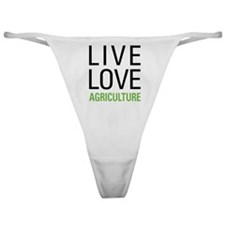 Live Love Agriculture Classic Thong