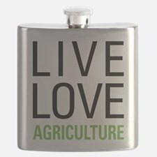 Live Love Agriculture Flask