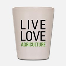 Live Love Agriculture Shot Glass