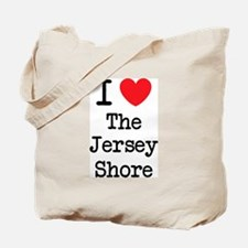 I Love The Jersey Shore Tote Bag