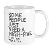 High 5 to the face Coffee Mugs