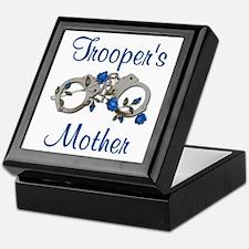 Trooper's Mother Keepsake Box