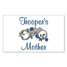 Trooper's Mother Rectangle Decal