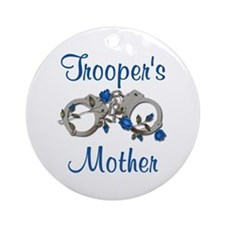 Trooper's Mother Ornament (Round)