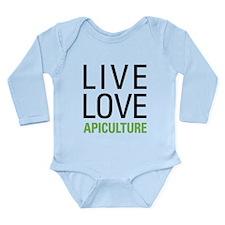 Live Love Apiculture Long Sleeve Infant Bodysuit