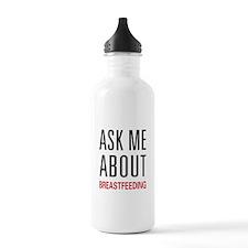 Ask Me Breastfeeding Water Bottle