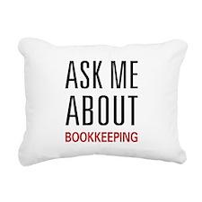 askbook.png Rectangular Canvas Pillow