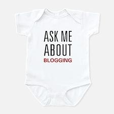 Ask Me Blogging Infant Bodysuit