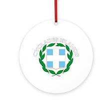 Cyclades Islands, Greece Ornament (Round)
