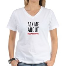 Ask Me About Beekeeping Shirt