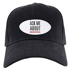 Ask Me About Beekeeping Baseball Hat