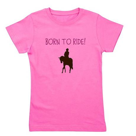Horse Theme Girl's Tee #3002