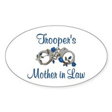 Trooper's Mother in Law Oval Decal