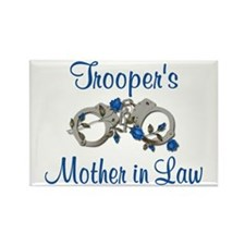 Trooper's Mother in Law Rectangle Magnet
