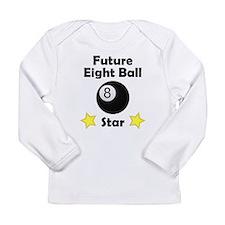 Future Eight Ball Star Long Sleeve T-Shirt