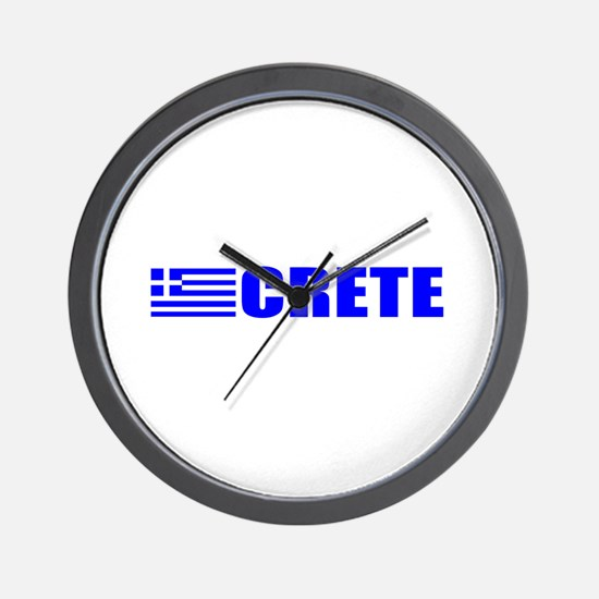 Crete, Greece Wall Clock