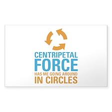 Centripetal Force Decal