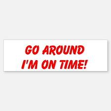 Go Around Sticker (Bumper)