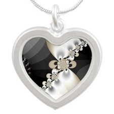 Dispersion  Silver Heart Necklace