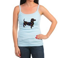 Butterfly Dachshund Ladies Top