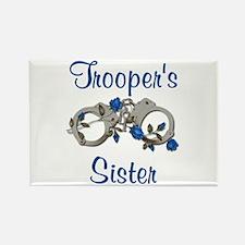 Trooper's Sister Rectangle Magnet