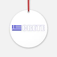 Crete, Greece Ornament (Round)